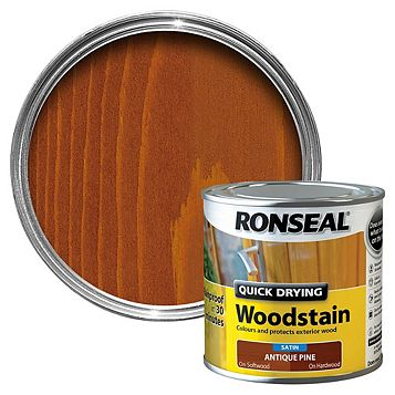 Ronseal Woodstain Antique Pine, 250ml