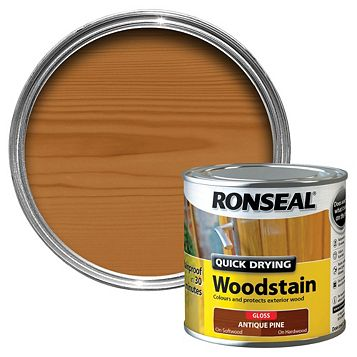 Ronseal Antique Pine Wood Stain 250ml