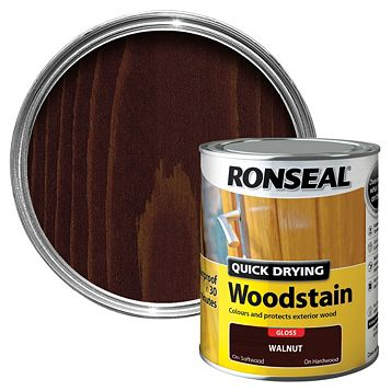 Ronseal Walnut Wood Stain 750ml