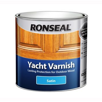 Ronseal Satin Yacht Varnish 1000ml