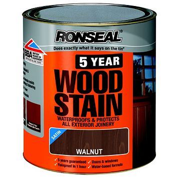 Ronseal Woodstain Walnut, 2.5L