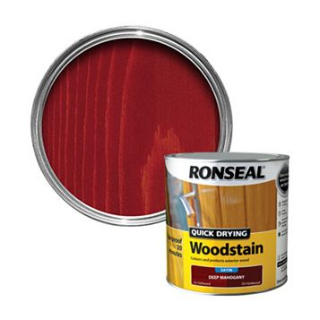 Ronseal Deep Mahogany Woodstain 2.5L