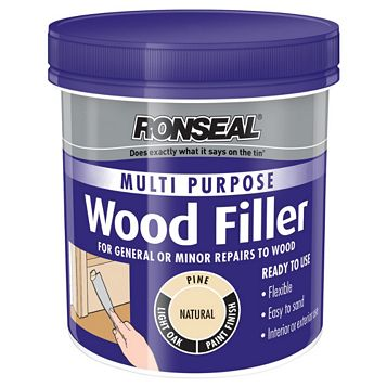 Ronseal Multi Purpose Wood Filler 250G
