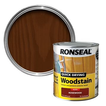 Ronseal Rosewood Woodstain 750ml