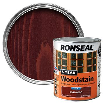 Ronseal Rosewood Wood Stain 750ml
