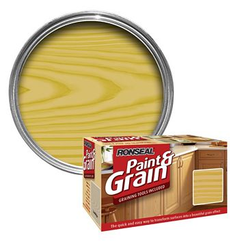 Ronseal Paint & Grain Antique Pine Special Effect Paint 1.5L