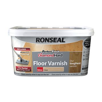 Ronseal Floor Varnish Clear, 2.5L