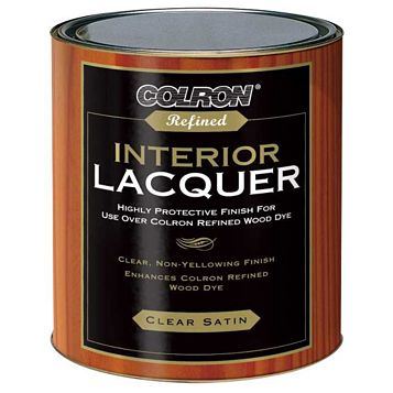 Colron Interior Lacquer Clear, 750ml