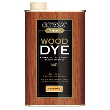 Colron Refined English Light Oak Wood Dye 500ml