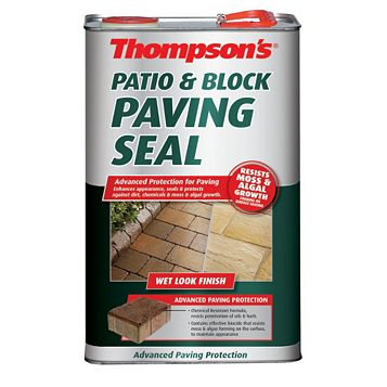 Thompson's Patios & Block Paving Paving Seal, Clear 5L