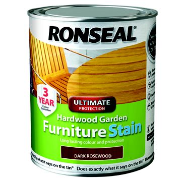 Ronseal Furniture Stain Dark Rosewood, 750ml