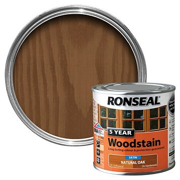 Ronseal Woodstain Natural Oak, 250ml