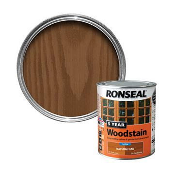 Ronseal Natural Oak Woodstain 750ml
