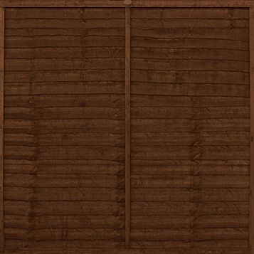 Ronseal Shed & Fence Stain With Preserver Medium Oak, 5L