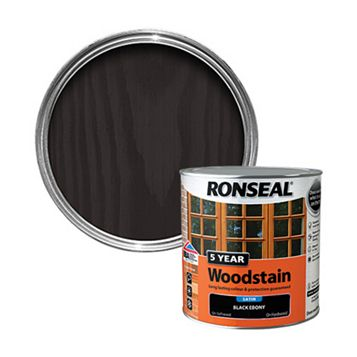 Ronseal Ebony Woodstain 2.5L
