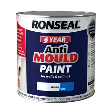 Ronseal Anti-Mould Paint White, 2.5L