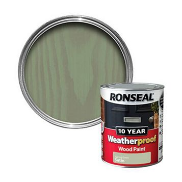 Ronseal Spring Green Wood Paint 750ml