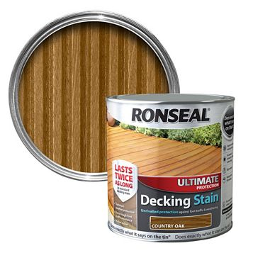 Ronseal Ultimate Protection Country Oak Decking Stain 5L