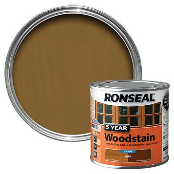 Ronseal Oak Wood Stain 250ml