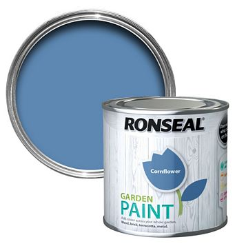 Ronseal Garden Paint Cornflower, 250ml