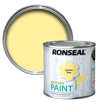 Ronseal Garden Lemon Tree Matt Garden Paint 250ml