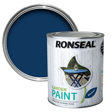 Ronseal Garden Paint Bluebell, 750ml