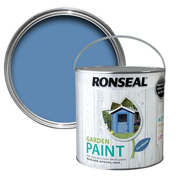 Ronseal Garden Cornflower Matt Garden Paint 2500ml