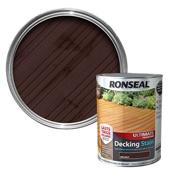 Ronseal Ultimate Protection Walnut Decking Stain 2.5L