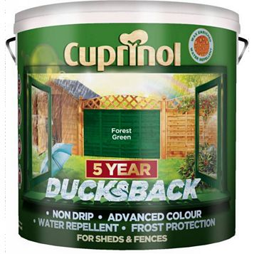 Cuprinol Shed & Fence Treatment Forest Green, 9L