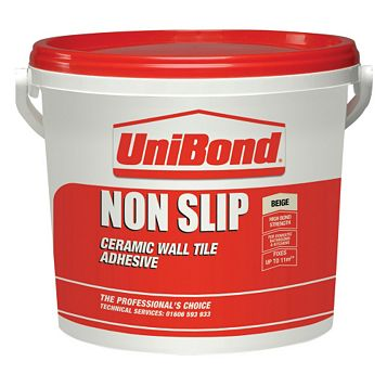 Unibond Non Slip Ready to Use Wall Tile Adhesive 15.64kg