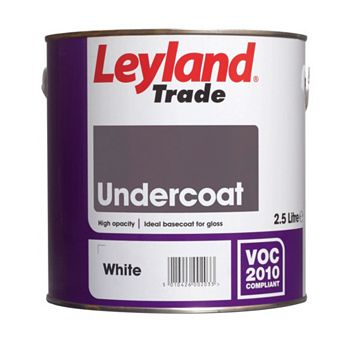 Leyland Trade White Primer & Undercoat 2.5L