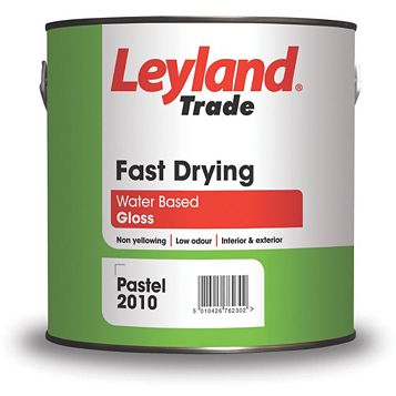 Leyland Trade Interior & Exterior White Gloss Paint 2.5L