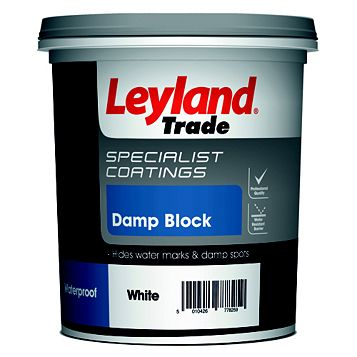 Leyland Trade White Emulsion Paint 750ml