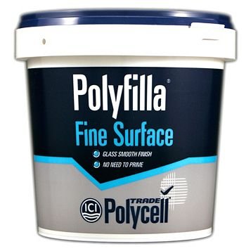 Polycell Trade Polyfilla Fine Surface Filler 1.75kg