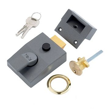 Yale 60mm Brass Effect Night Latch P-89-DMG-PB-60