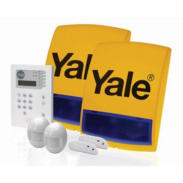 Yale White & Yellow Alarm Kit