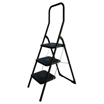 Abru 3-Tread Step Stool, (H)1.41m