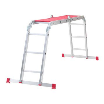 Abru Aluminium 12-Way Combination Ladder, (H)3.38M