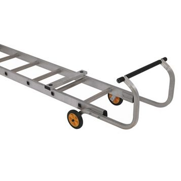 Werner Aluminium-Way Trade Roof Ladder, (H)5.69M