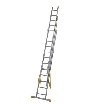 Werner Aluminium & Plastic 4-Way Extensionplus™ Combination Ladder, (H)8.54M