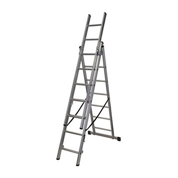 Werner Aluminium 4-Way Combination Ladder, (H)4.94M