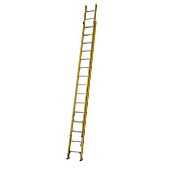 Werner Fibreglass & Aluminium-Way Trade Extension Ladder, (H)7.96M
