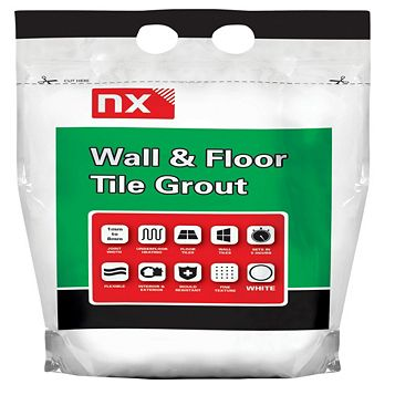 Nx Rapid Set Wall & Floor Tile Grout (W)5kg