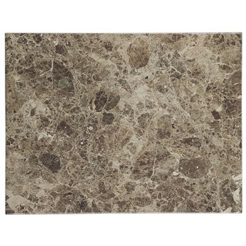 Illusion Brown Marble Effect Ceramic Wall & Floor Tile, Pack of 10, (L)360mm (W)275mm