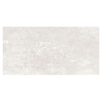 Urban White Matt Ceramic Wall & Floor Tile, Pack of 5, (L)600mm (W)300mm