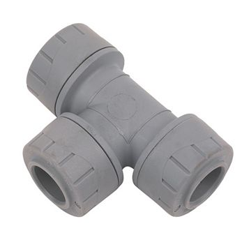 Polyplumb Push Fit Equal Tee (Dia)15 mm