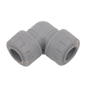 Polyplumb Push Fit Elbow (Dia)15mm