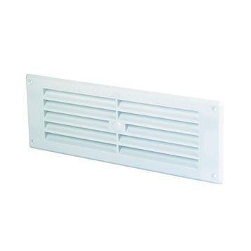 Map Vent White Louvre Vent (W)229mm