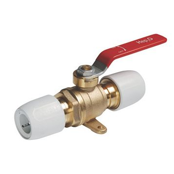 Hep2O Push Fit Ball Valve (Dia)15 mm