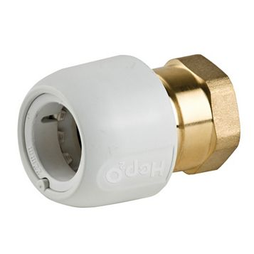 Hep2O Adapt Brass Female Socket (Dia)22 mm